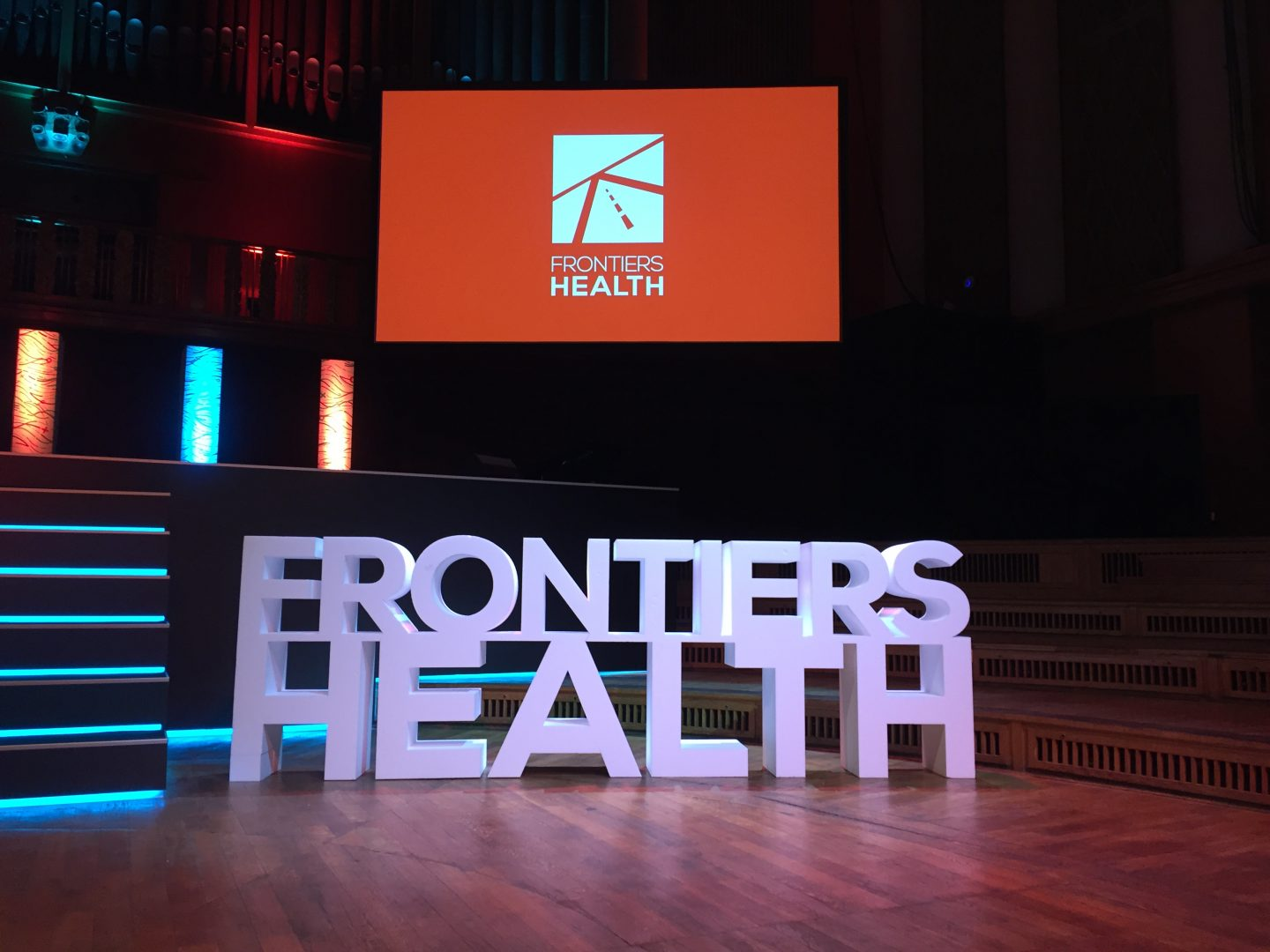 Live coverage from Frontiers Health 2018