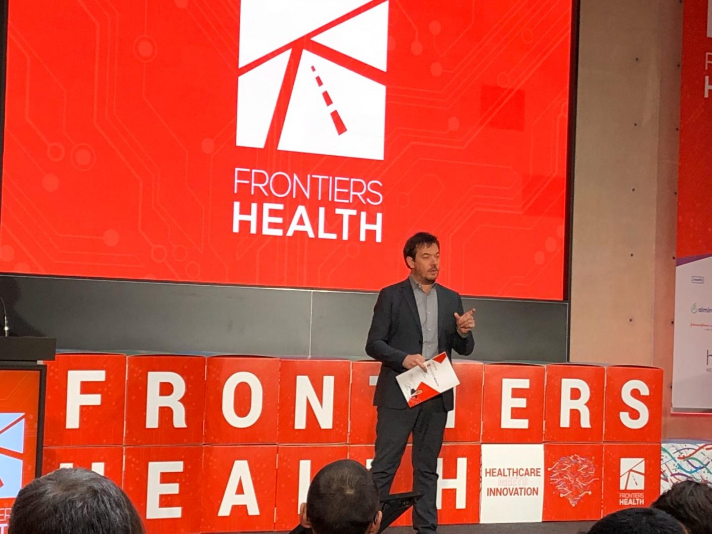 Frontiers Health - the leading international conference dedicated to digital health - kicks off today in Berlin