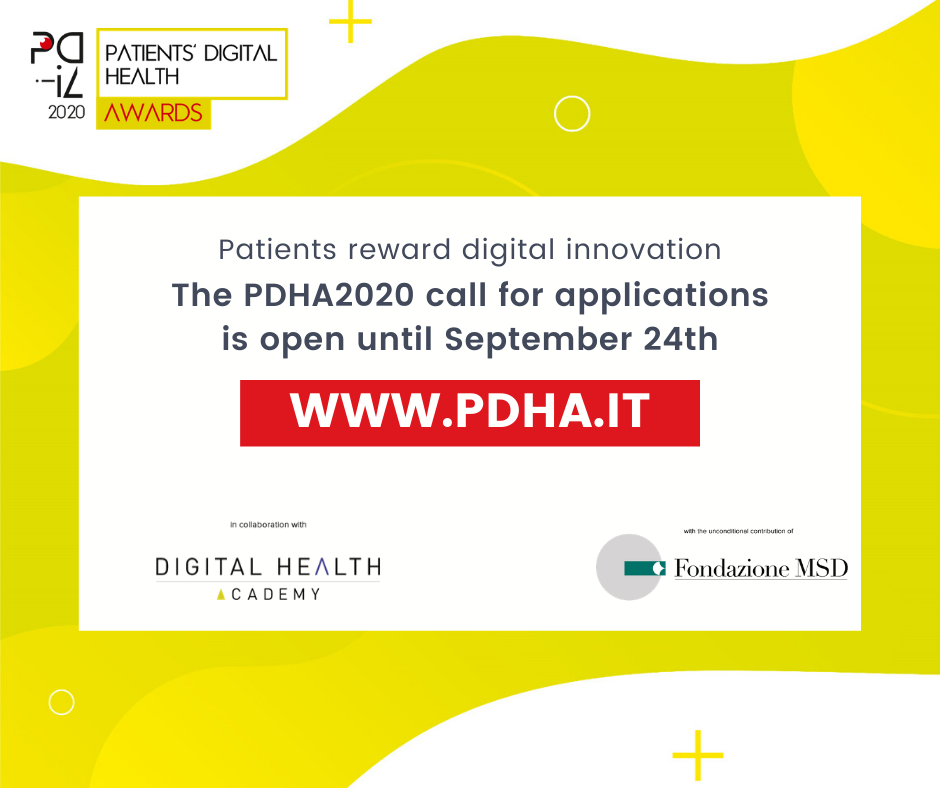 Apply now to the PDHA