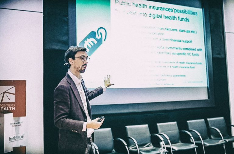 """It's very selfish: we want the best possible healthcare in Germany. For that, we need the best possible digital health solutions"""