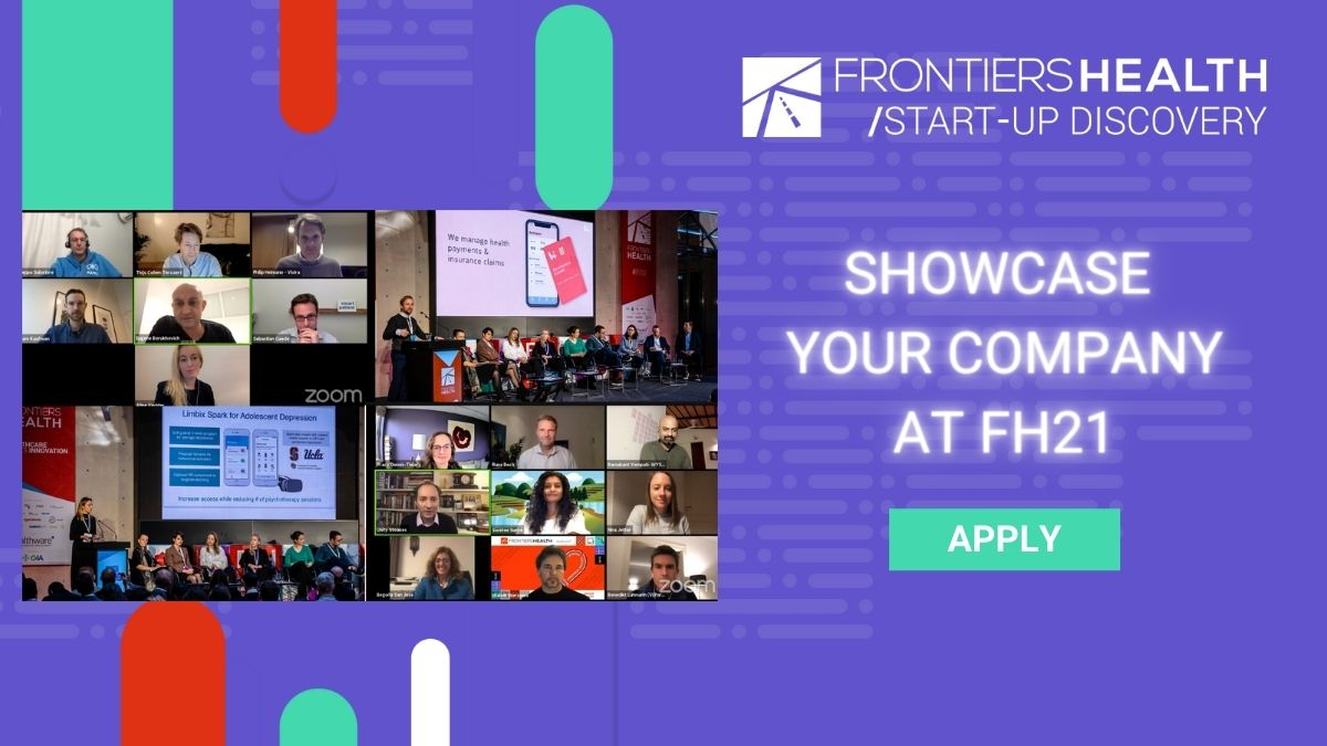 #FH21 registration is now open for the Start-up Discovery sessions