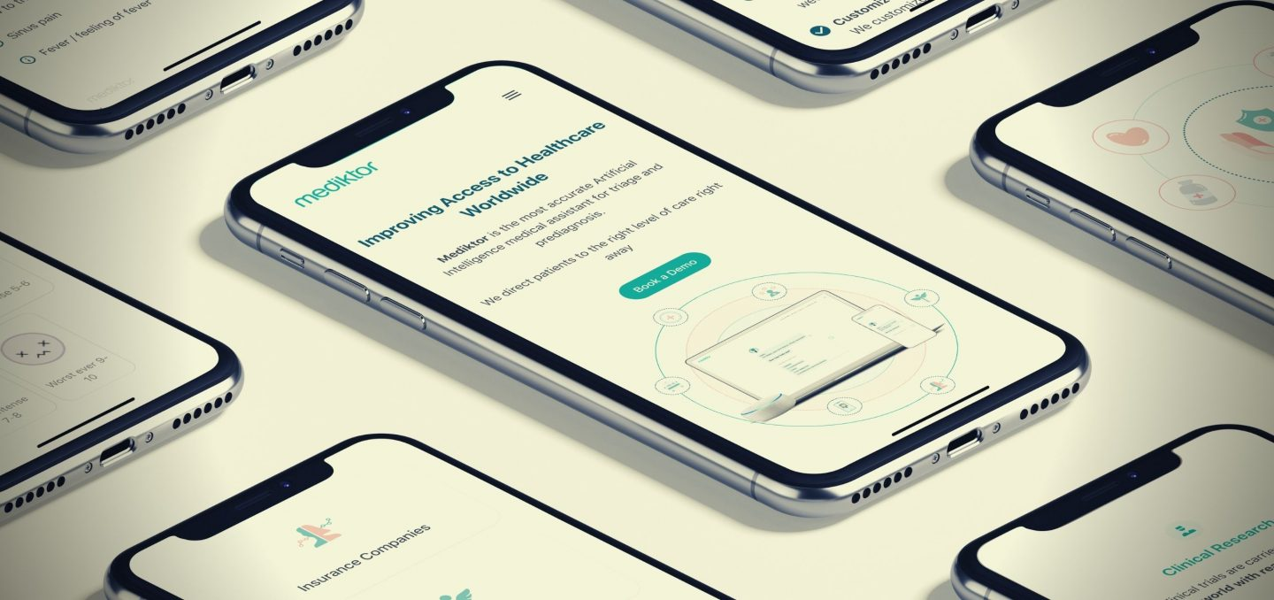 Mediktor raises €11m round for its AI-triage and pre-diagnosis medical assistant